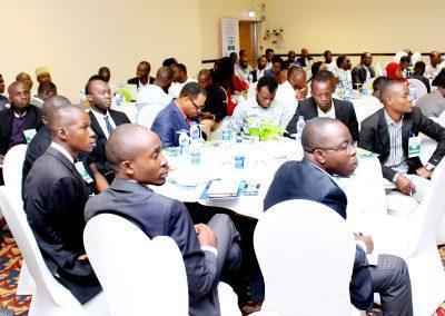 A session of the audience at the Summit in Sheraton Hotel, Lagos