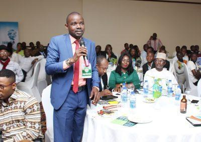 Dr. Adebisi of University of Lagos during the interactive session